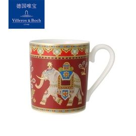 唯宝 Villeroy & Boch 德国唯宝 进口骨瓷马克杯 咖啡杯 水杯 陶瓷杯礼盒装