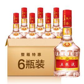 五粮液 普五 52度 500ml*6瓶 浓香型白酒 整箱包装(非原箱)