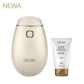 NEWA 妞娃 以色列射频美容仪 脸部提 拉紧致抗皱嫩肤仪器 (含1支凝胶)珍珠白