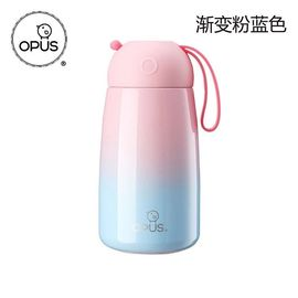OPUS 不锈钢保温杯女学生韩版清新文艺便携水杯子创意可爱潮流茶杯
