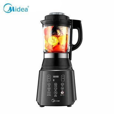 美的 (Midea) 破壁机立体加热家用料理机搅拌婴儿辅食机 MJ-WBL1008Q 黑色