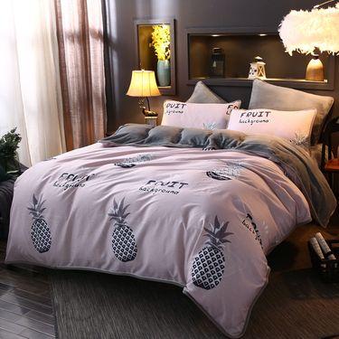 艾桐 四件套 双人保暖床品套件