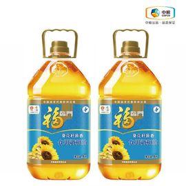 福临门   葵花籽原香食用调和油5L*2