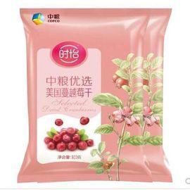 时怡 中粮 时怡优选美国蔓越莓干300G*2袋
