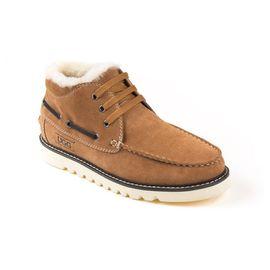 Ozwear UGG 男士小贝同款牛绒面内里加厚羊毛防泼水鞋面雪地靴 澳洲直邮 普维香港