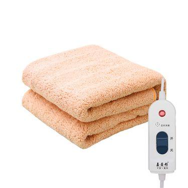 嘉若彤 多人电热毯单控10档调温水暖毯防水断电褥子毛绒加厚水热毯LP-171
