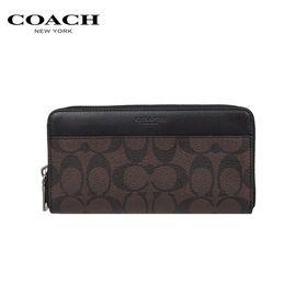 COACH 蔻驰 男士PVC长款拉链手包钱包F58112 多色可选 洲际速买