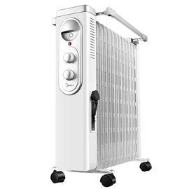 美的MIDEA (商超同款)电油汀式电暖器NY2513-16FW家用高端暖气片电热油汀取暖器