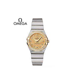 欧米茄 星座系列腕表石英女表 123.25.27.60.58.001意大利进口 GUSHANGGROUP