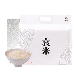 袁米 原种天地盖礼盒  海水稻有机大米 非转基因大米 碱生稻长粒米 5Kg