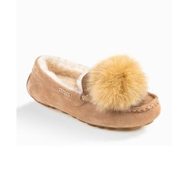 Ozwear UGG 【一鞋两穿】毛求可拆卸 防水毛豆豆鞋雪地靴OB291P IVY