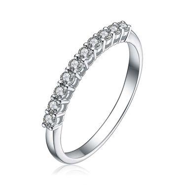 金六福尚美 18k金30分钻石戒指带证书CHR00026
