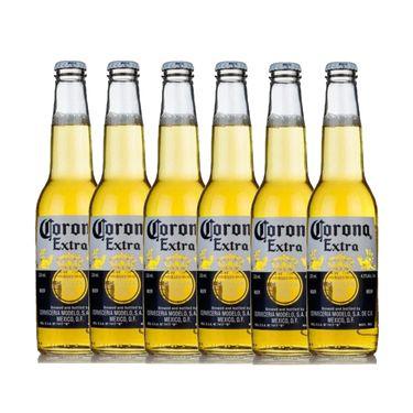 中粮 科罗娜CORONA特级啤酒 330ml*6瓶【中粮海外直采】