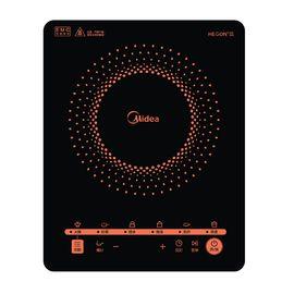 美的 (Midea)电磁炉多功能大功率 触控黑晶面板 智能暂停 4D防水 C21-RT2171