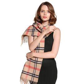 Ozwear UGG 澳洲直邮 羊毛披肩围巾格子围巾纯色 澳洲进口 IVY