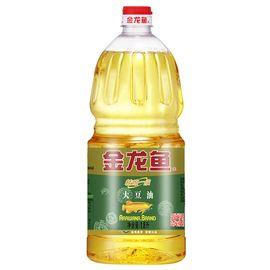 金龙鱼 精炼一级大豆油 食用油 1.8L