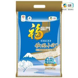 福临门 秋田小町 东北大米10斤装 米中佳品 清透白润 米香百味