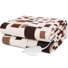 赛亿 (Shinee)电热毯电褥子暖身毯取暖器家用取暖电器电暖器电暖气 双人单控格子电热毯TB202