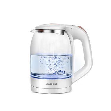 长虹红太阳 玻璃壶 1.8L大容高硼硅玻璃 耐冷热骤变交替 蓝光设计 BLSH-18E