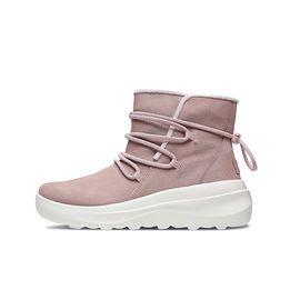 斯凯奇 Skechers 女鞋新款时尚绒里短靴轻便健步休闲鞋 15547