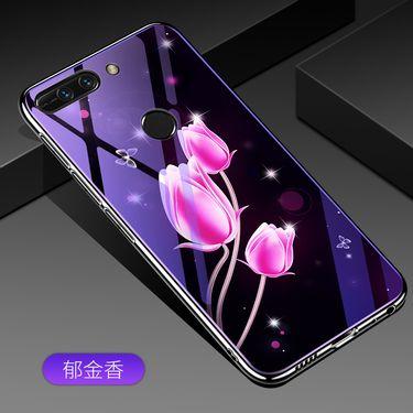 麦阿蜜 荣耀V9手机壳DUK-AL20保护套个性创意电镀TPU软边抖音网红蓝光玻璃壳潮流时尚男女新款