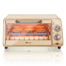 Bear小熊 家用多功能10L迷你烘焙电烤箱   褐色