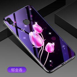 麦阿蜜 vivo X21手机壳X21a保护套新款创意电镀TPU软边蓝光玻璃壳网红抖音同款时尚男女潮款