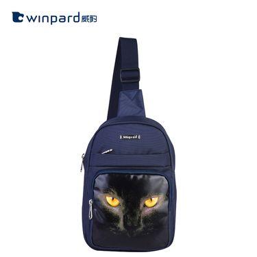 Winpard/威豹 时尚个性简约单肩包 OL052-HAS26175蓝色