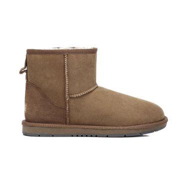 Ever UGG 【情侣雪地靴】男女同款澳洲羊毛靴经典短筒15701 澳洲进口 IVY