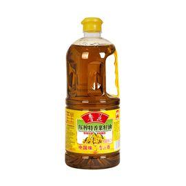 鲁花 特香菜籽油2L 非转基因物理压榨食用油 健康食品