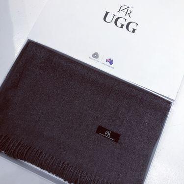 IZRugg 澳大利亚IZR UGG 围巾 1号酒红色 尺寸200*70cm 25%羊绒