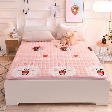 艾桐 法莱绒床护垫 可水洗床褥子 薄床垫