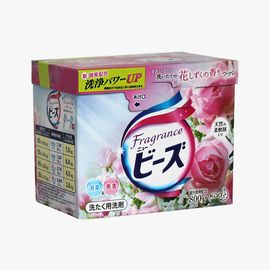 KAO/花王  玫瑰香洗衣粉  柔顺清爽 850g/盒 低泡易漂 有效去污 新老包装随机发
