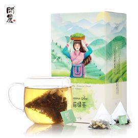 问农 茉莉花茶 茉莉绿茶 茉莉花苞组合三角袋泡茶叶浓香型