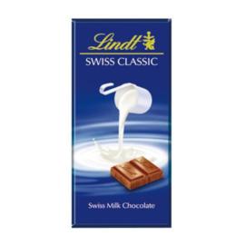 瑞士莲LINDT 牛奶巧克力100g(瑞士进口 排)