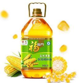 中粮 福临门玉米清香食用调和油5L,油色清亮,口味清淡不油腻