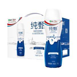 蒙牛 纯甄风味瓶装酸牛奶230g*10瓶
