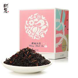 问农 樱桃红茶叶锡兰红茶樱桃洛神花等组合茶三角包袋泡茶