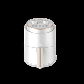 美的  空气炸锅 1.5L容量 双旋钮定时定温 随心DIY 简约白设计彰显典雅MF-ZY1501