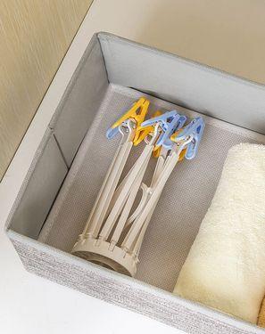 KOKUBO 【正品特卖】衣架/裤架 日本进口 便携旅游神器创意8夹多功能半圆伞型晾晒架