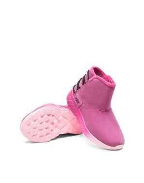 斯凯奇 女童棉鞋/雪地靴 Skechers斯凯奇 冬季新款女童鞋 时尚保暖平底低筒短靴