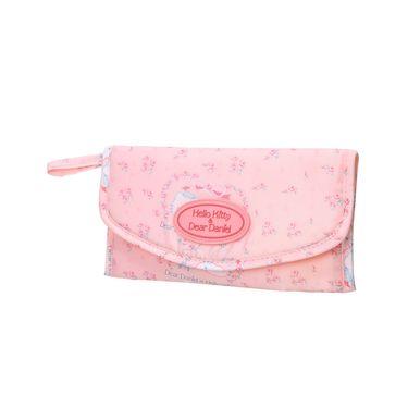 收纳包袋 粉红玫瑰旅行用卫生棉电子配件杂物收纳袋