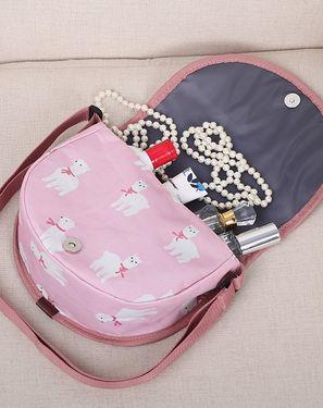 收纳包袋 简单生活 户外休闲半圆式斜挎包