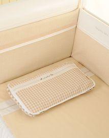 婴幼枕头/枕芯 良良麻棉枕巾婴儿枕套透气吸汗排汗宝宝枕巾儿童半面枕套