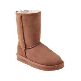 Ozwear UGG 秋冬防水保暖羊皮毛一体男女款中筒雪地靴  澳洲直邮 普维香港
