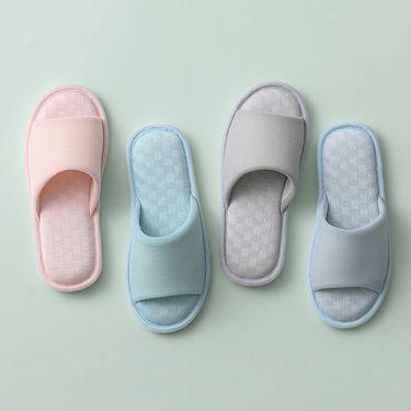 ABS 爱彼此 家居防滑拖鞋情侣款 两双装