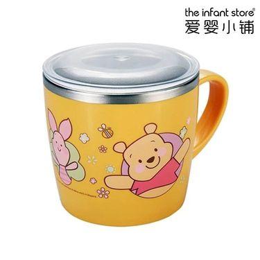 爱婴小铺 迪士尼(Disney)不锈钢饮水杯(带盖)(四色可选)