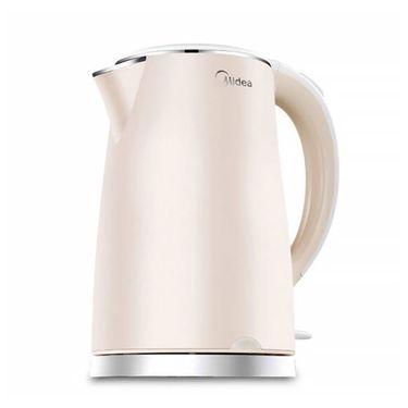 美的MIDEA 电热水壶家用不锈钢自动断电防烫烧水壶 MK-HJ1505