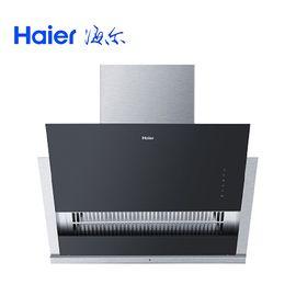海尔 (Haier) 侧吸式大吸力触控不锈钢滑动式抽油烟机CXW-200-C390