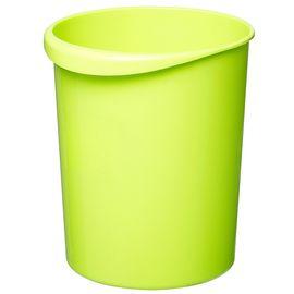 家杰 简易时尚塑料卫生桶 手提垃圾桶 家用圆形纸篓 12L JJ-101